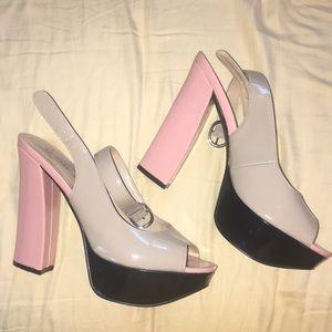 "Chinese laundry platform 5"" heel"